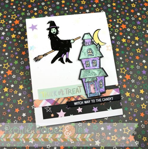 Project: Glow in the Dark Halloween Card