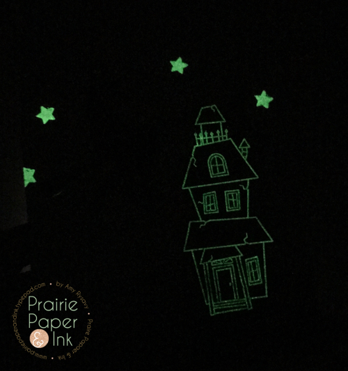 Project: Glow in the Dark Halloween Card