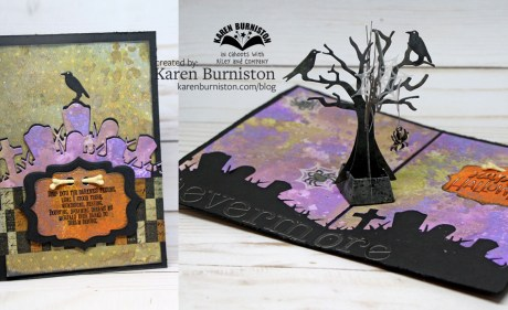 Tutorial: Raven Tree Pop Up Card