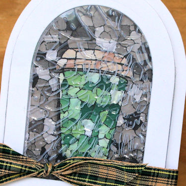 Technique Faux Stained Glass Stamping