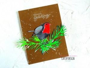 Project: Winter Robin Card