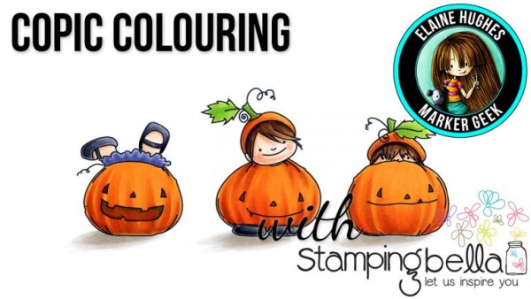 Tip: Coloring Pumpkin Stamps with Copic Markers