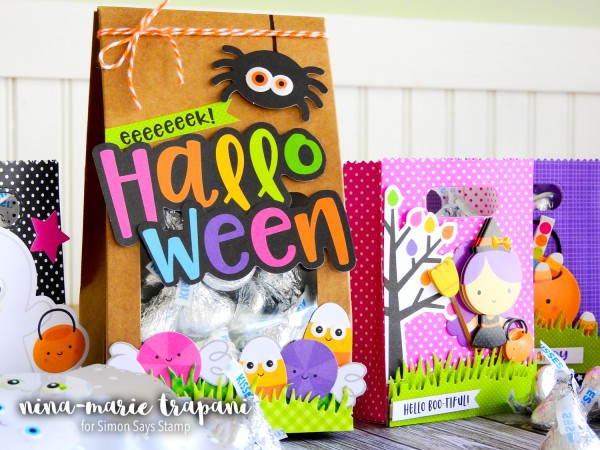 Project: Halloween Treat Bags with Scrapbooking Supplies