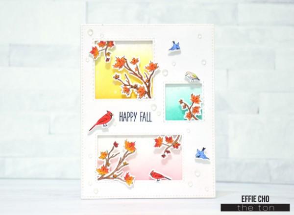 Project: Fall Window Card