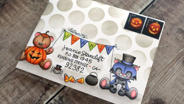 Project: Stamped Halloween Envelope