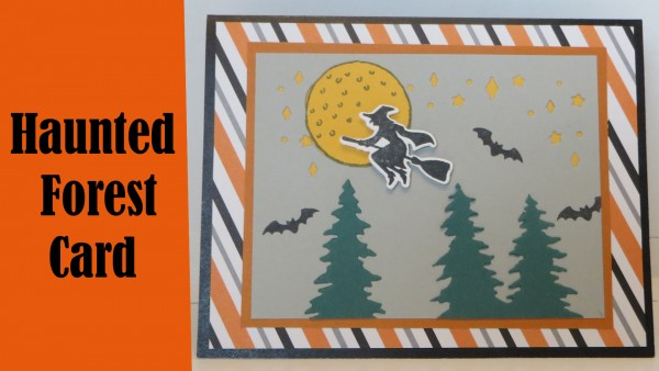 Project: Haunted Forest Halloween Card