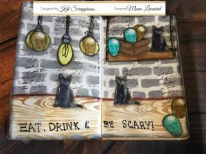 Project: Halloween Journal Page