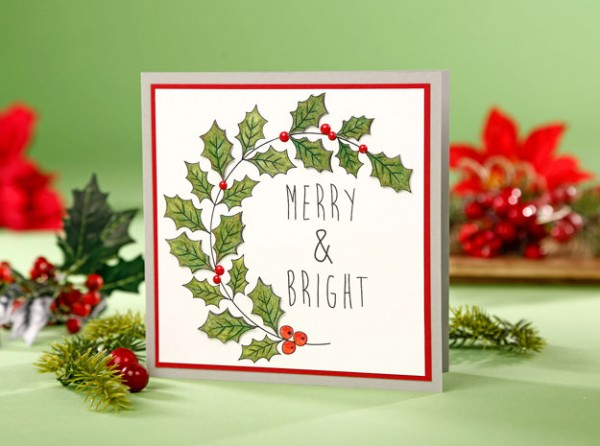 Download: Christmas Foliage Digital Stamps