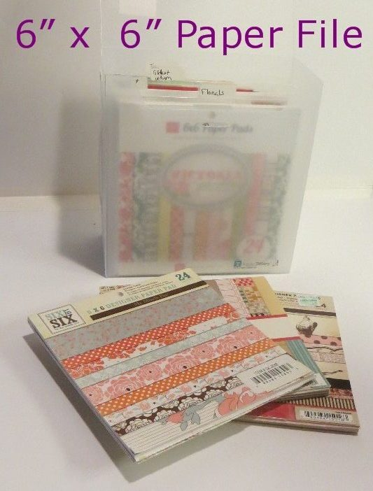 Product Review: 6 x 6 Fab File Paper Pad Organizer