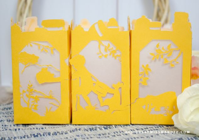 Download: Winnie the Pooh Paper Lantern Pattern