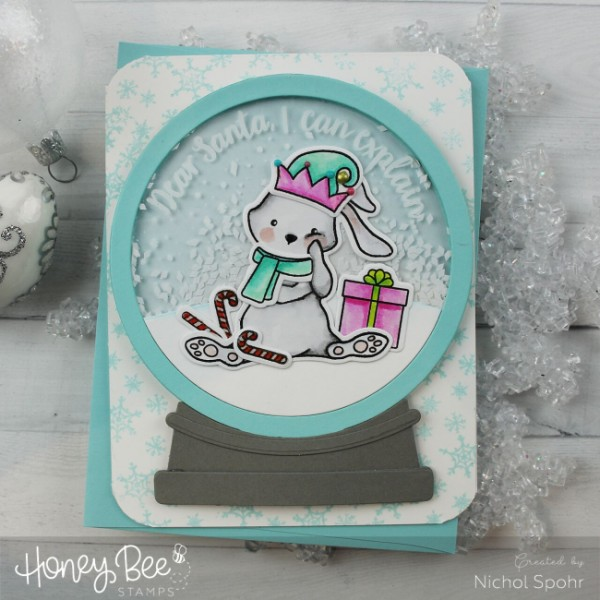 Project: Funny Christmas Shaker Card