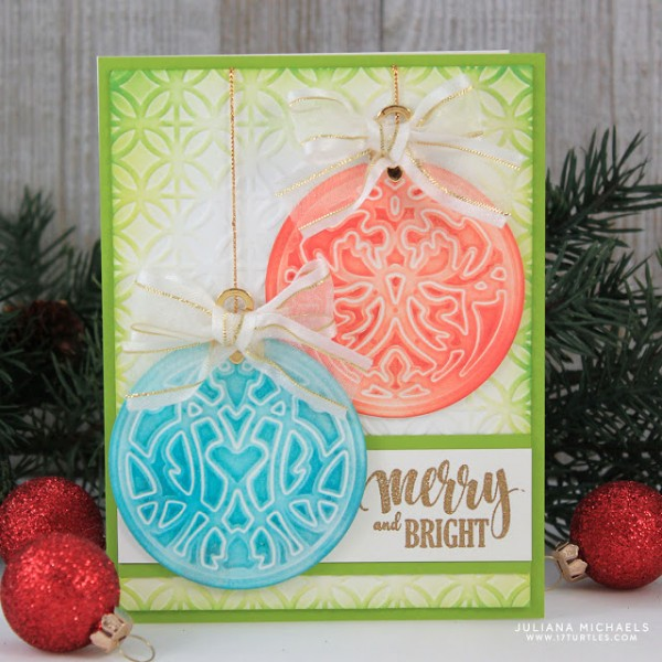 Tip: Embossing with Cutting Dies