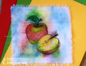 Tips: How to Stamp and Color on Fabric with Fabrico Markers