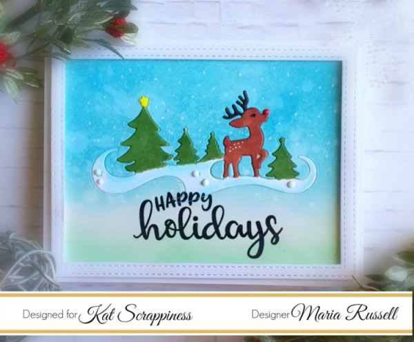 Tutorial: Inlaid Holiday Cards