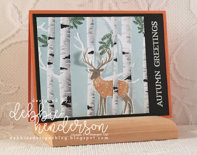 Project: Woodland Deer Card
