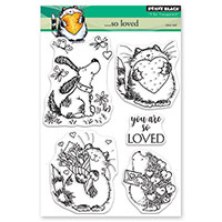 Tutorials: Four Cards Using One Stamp Set