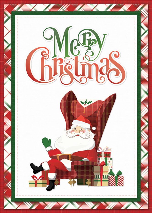 Download: Santa Christmas Card