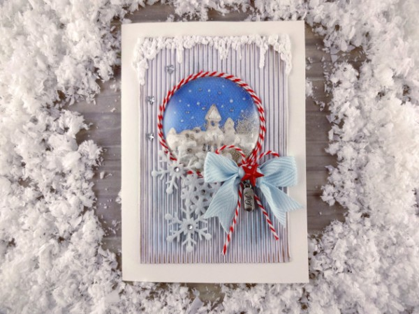 Project: Winter Wonderland Shaker Card