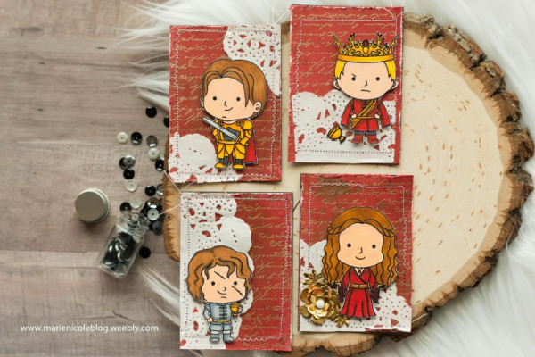 Project: Game of Thrones ATC's