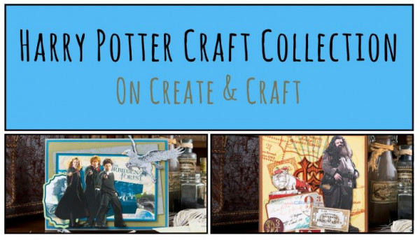 New Release: Harry Potter Paper Craft Collection