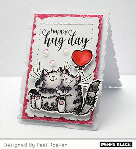 Project: Hug Day Valentine Card