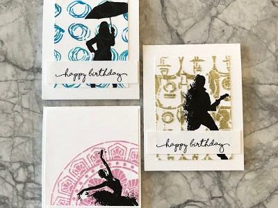 Tips: Stenciled Card Backgrounds