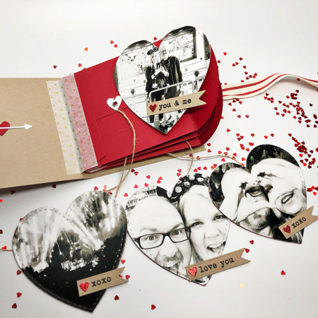 Project: Valentine Envelope Mini Book