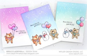 Project: Simple Winter Themed Valentine's Cards