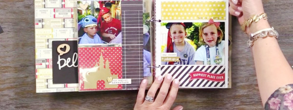 Project: Disney Trip Scrapbook