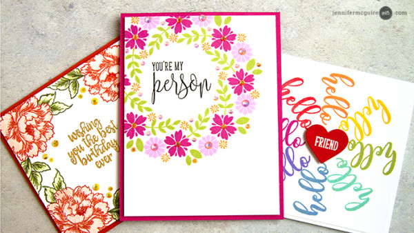 Product Release: Wreath Builder Stamps and Templates