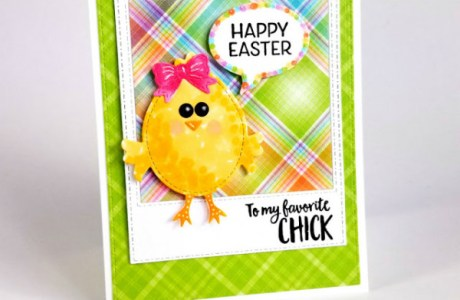Project: Easter Chick Card