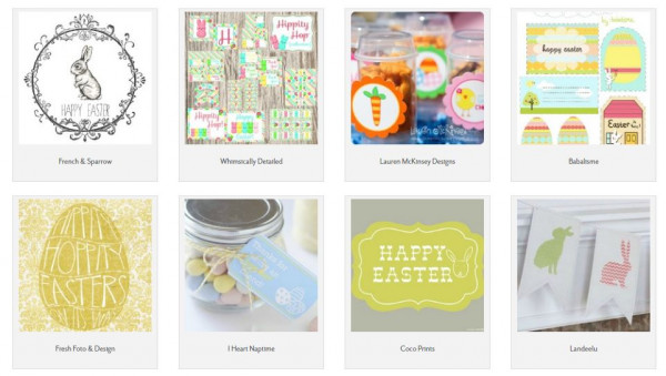 50 FREE Easter Printables