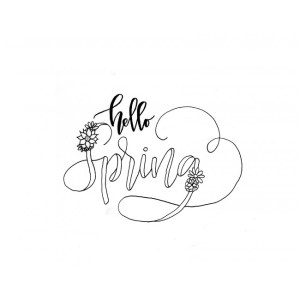 Freebie: Spring Digital Sentiment