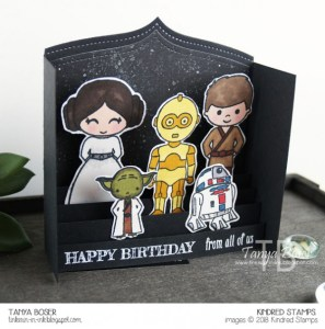 Project: Star Wars Pop Up Card