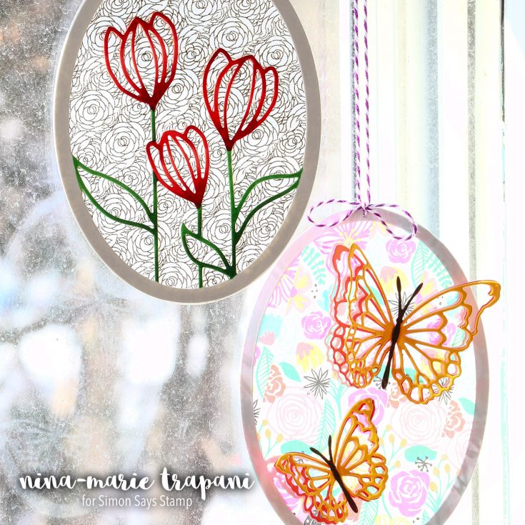 Project: Washi Tape Suncatchers