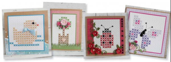 Download: Cross Stitch Card Patterns