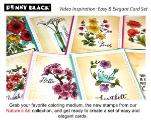 Easy and Elegant Floral Card Set