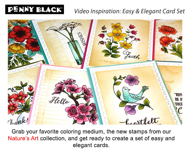 Easy and Elegant Floral Card Set