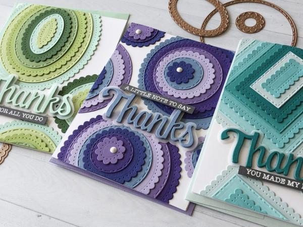 Basic Shapes Layered Cards