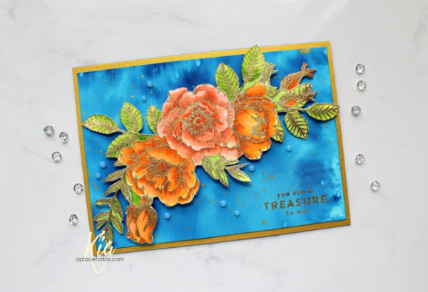 Elegant Floral Card