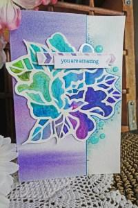 Negative Space Die Cut Coloring