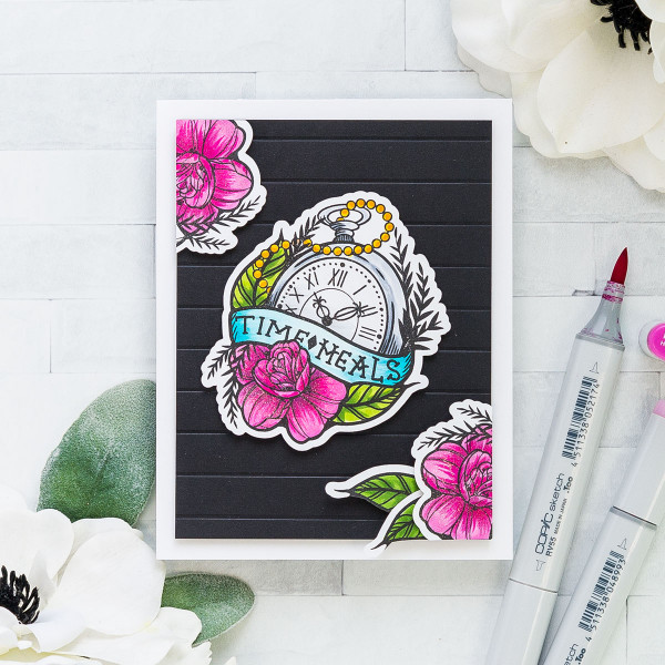 Time Heal Sympathy Card