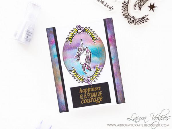 Unicorn Galaxy Card