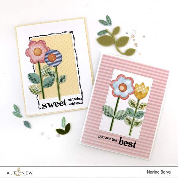 Die Cutting with Patterned Papers