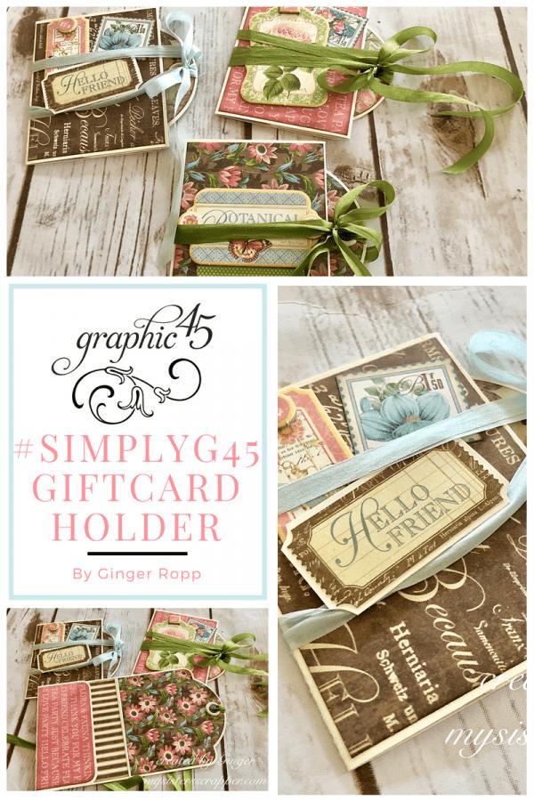 Easy Gift Card Holder