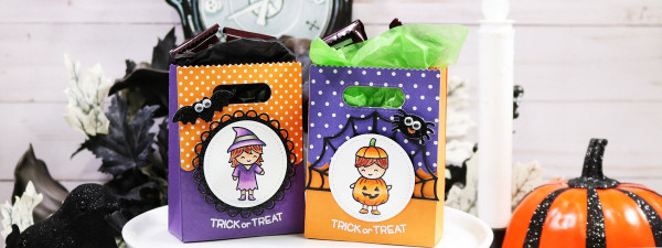 Mini Halloween Goodie Bags