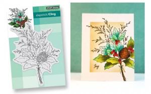Winter Bouquet Card