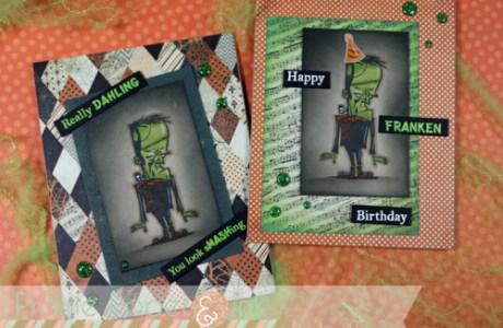 Frankenstein's Monster Cards