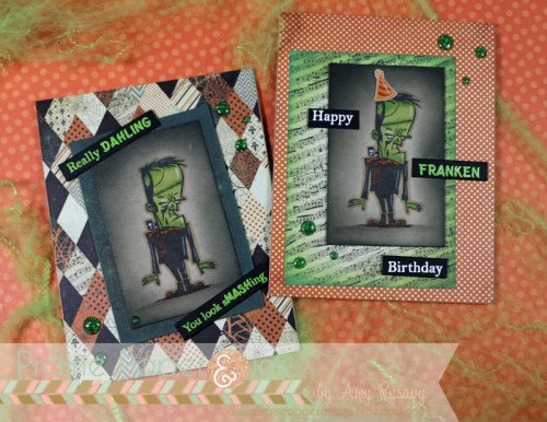 Frankenstein's Monster Cards