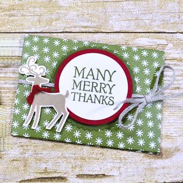 Paper Wallet Gift Card Holder